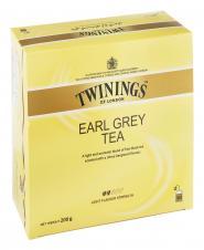 چای سیاه کیسه ای کلاسیک ارل گری ملایم معطر به عصاره  برگاموت 100 عددی توینینگز