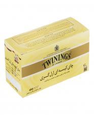 چای کیسهای ارلگری 25 عددی توینینگز