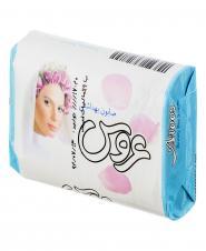 صابون آرایشی بهداشتی سفید 75 گرمی عروس