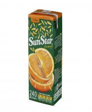 نوشیدنی بدون گاز پرتقال 240 میلی لیتری سان استار