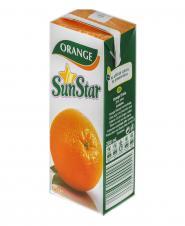 نوشیدنی پرتقال 200 میلیلیتری ساناستار