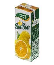 نوشیدنی پرتقال انبه 200 میلیلیتری ساناستار