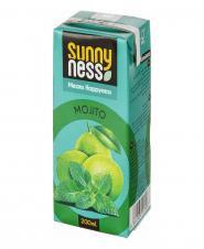 نوشیدنی بدون گاز لیمو با طعم نعنا 200 میلیلیتری سانی نس