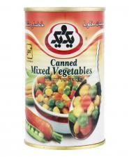 کنسرو مخلوط سبزیجات 415 گرمی یکویک