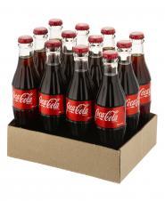 پک 12 عددی نوشابه کولا 250 میلیلیتری کوکاکولا