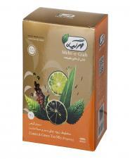 دمنوش گیاهی مخلوط زیره، چای سبز و سنا 75 گرمی مهرگیاه