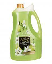 مایع دستشویی سبز 3750 گرمی اکتیو