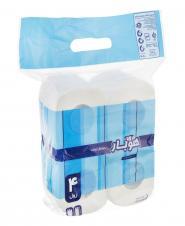 دستمال توالت چهار لایه 4 رول هوبار