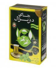 چای سبز خارجی با طعم نعنا 250 گرمی دوغزال