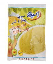 سوپ پیاز و شیر 73 گرمی اسپرتو