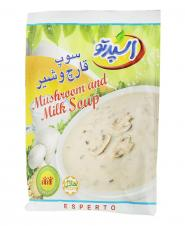 سوپ قارچ و شیر 70 گرمی اسپرتو