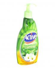 مایع دستشویی سبز 450 گرمی اکتیو