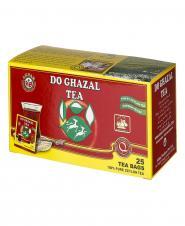 چای سیاه کیسهای خارجی 25 عددی دوغزال