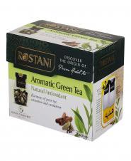 چای کیسهای سبز معطر 16 عددی رستنی