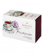 چای سیاه کیسهای کلاسیک 25 عددی مانی