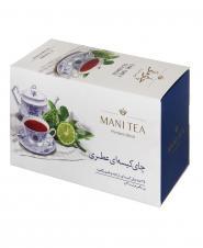چای سیاه کیسهای عطری 25 عددی مانی