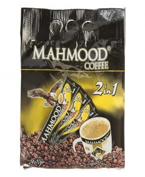 پودر مخلوط قهوه فوری بدون شکر 24 عددی محمود