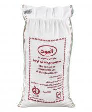 برنج شیرودی دانه بلند درجه یک 5 کیلویی الموت