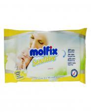 دستمال مرطوب بچه مخصوص پوست حساس 20 عددی مولفیکس