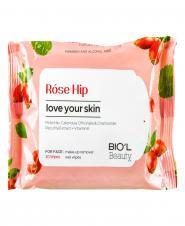 دستمال مرطوب پاک کننده آرایش صورت برای پوست های مختلط و همه پوست ها  20 عددی بیول