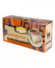 چای کیسهای ساده 25 عددی محسن