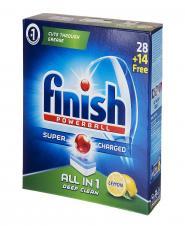 قرص ماشین ظرفشویی لیمویی 42 عددی فینیش