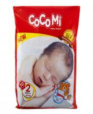 پوشک کامل بچه سایز 2 (6-3 کیلوگرم) 10 عددی کوکومی