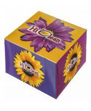 دستمال ماشین طرح گلباران دو لایه 50 برگ هایکلین