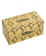 دستمال کاغذی دانتل طلایی دو لایه 150 برگ سافتلن