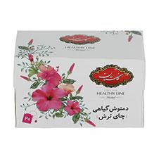 دمنوش چای ترش گلستان 20 عددی