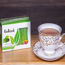 دمنوش چای سبز گل کوه 20 عددی