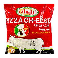 پنیر پیتزا رنده شده موزارلا ناژوان 2000 گرمی