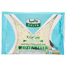 پنیر پیتزا رنده شده موزارلا کم چرب دالیا 500 گرمی