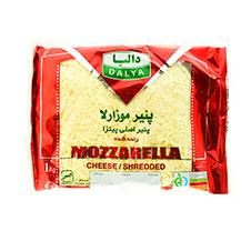 پنیر پیتزا رنده شده موزارلا دالیا 1000 گرمی