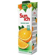 آبمیوه پرتقال پالپ دار سن ایچ 1000 میلی لیتری