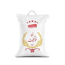 برنج ایرانی درجه یک خوش پخت کاویش 5 کیلوگرمی