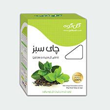 دمنوش چای سبز گل کوه 80 گرمی