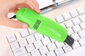روش های تمیز کردن لپ تاپ و تلویزیون